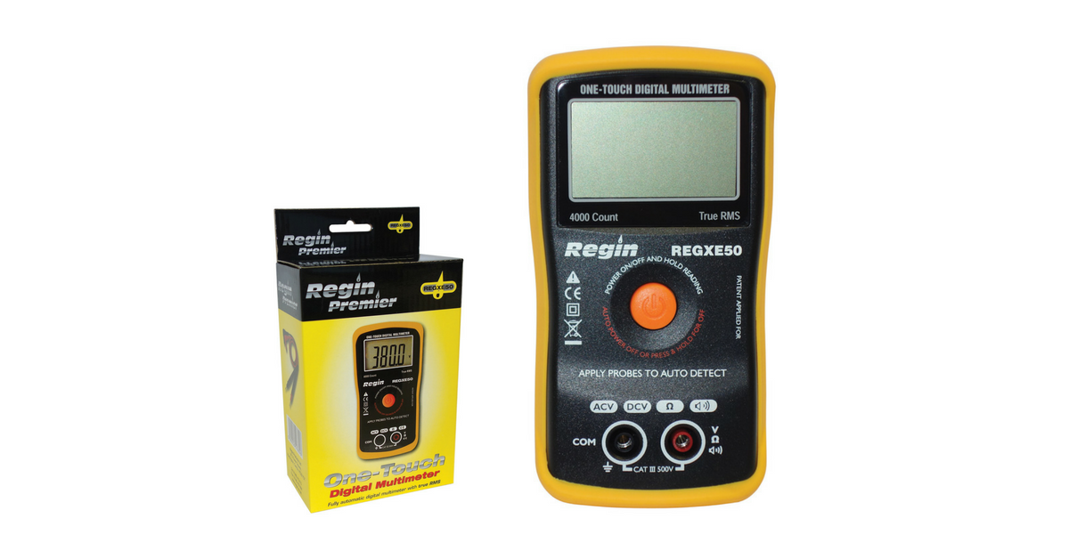 Regin One-Touch Smart Digital Multimeter