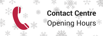 Contact Centre Christmas Hours