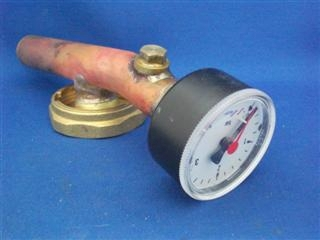 1015709 Worcester 87161200540 Pressure Gauge/Drain Assembly