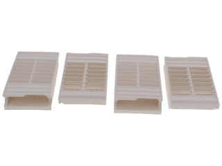 1113642 Baxi 237852 Radiant Plaque Set(237851 X 4)