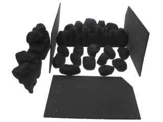 1145276 Valor 5108037 Ceramics Set Coal C1+Walls 5108037 H10887