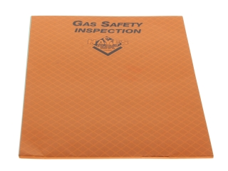 1640185 Hayes 663013 Gas Safety Inspection Pad (Pad of 25)