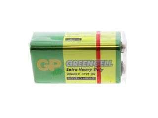 1640955 GP Extra Heavy Duty Battery 9v PP3