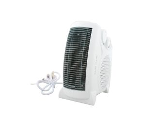 1950000 Portable Fan Heater 2Kw 2 Heat Settings Fan Heater 2Kw