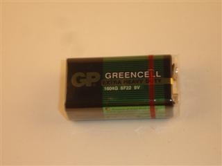 1980002 Bt00085 Pp3 9V Zinc Chloride Battery Bt00085