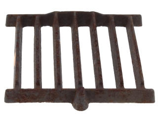 2400080 Parkray P080133 Bottomgrate - Chrome Iron