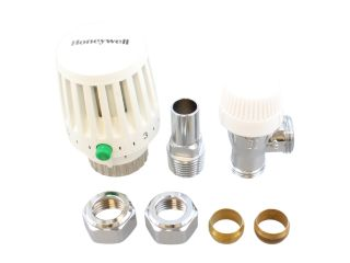 4201055 Honeywell Vt117-15A Traditional Trv Angled Body With 15Mm Fittings