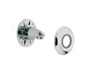 7020120 Aqualisa 215016 Wall Outlet Assembly - Chrome 215016